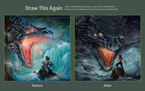 Draw this again: the wrath of the sea 2008-2012 by Nightpark