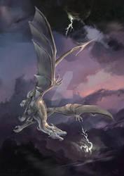 Silverdrak - Commission by Nightpark