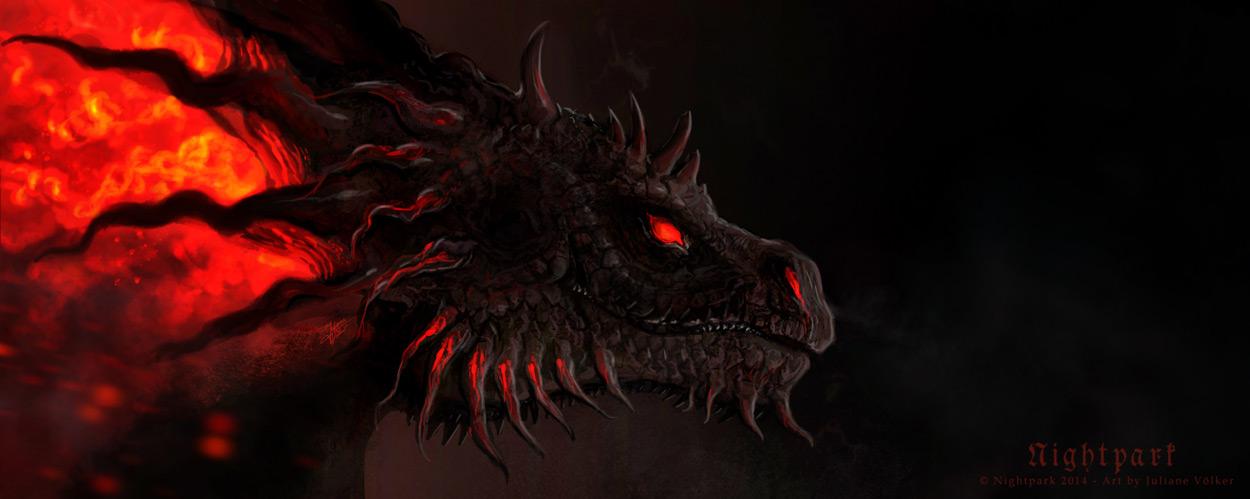 Demon Dragon By Nightpark On DeviantArt