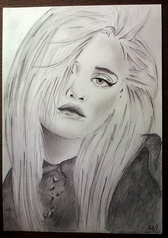 Sky Ferreira by CupidsGun