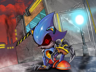 metal sonic by Unique-Shadow