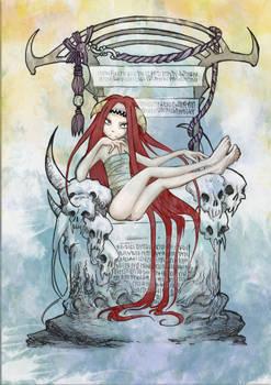 Skull throne.