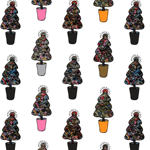 Christmas pattern 1 by PajkaBajka