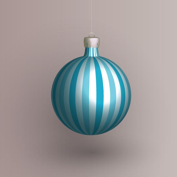 Christmas stripe ball by PajkaBajka