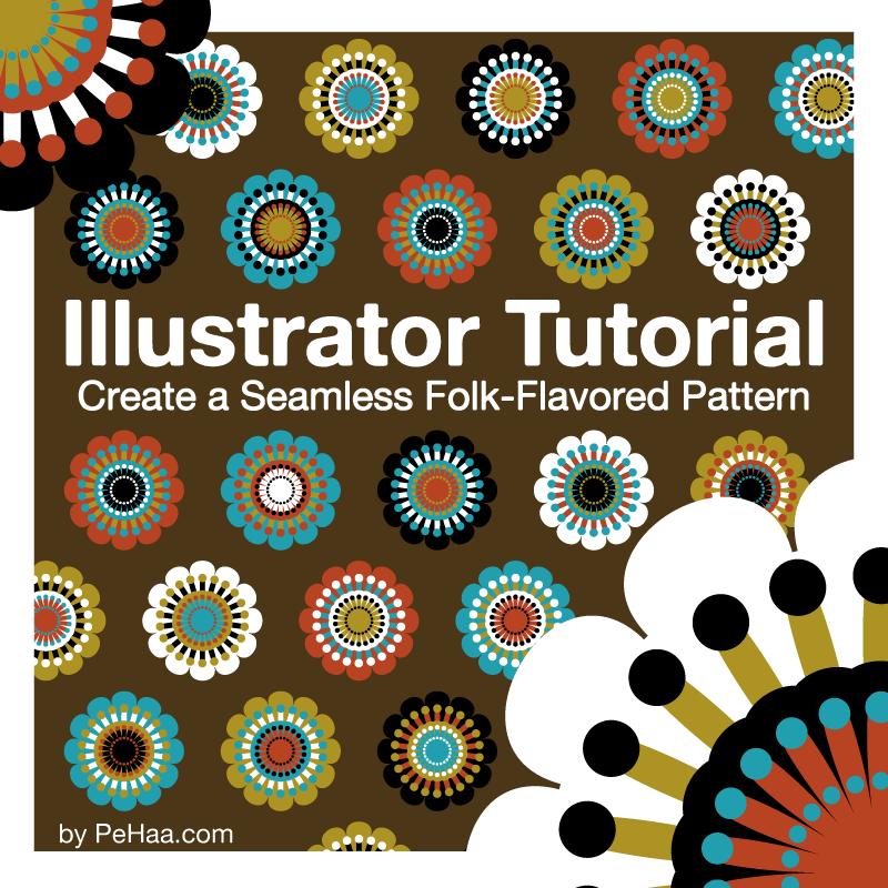 Create a Seamless Folk Pattern by PajkaBajka