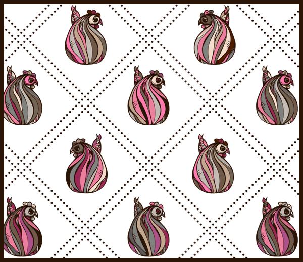 Easter Pattern 3 by PajkaBajka