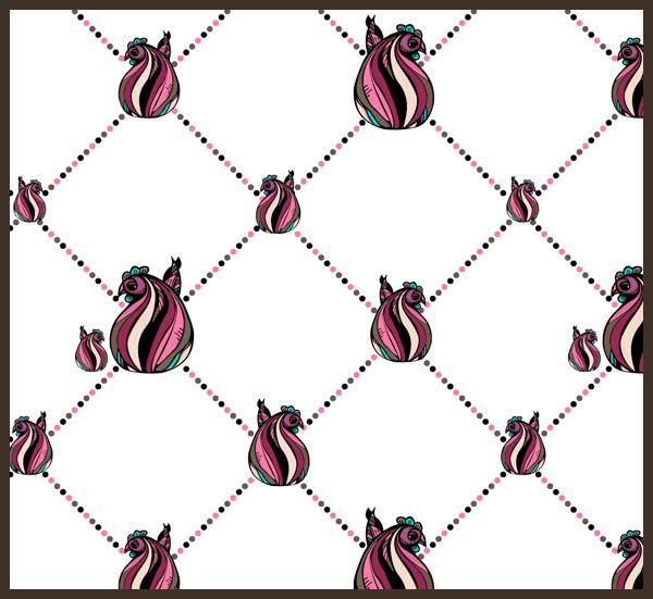 Easter Pattern 1 by PajkaBajka