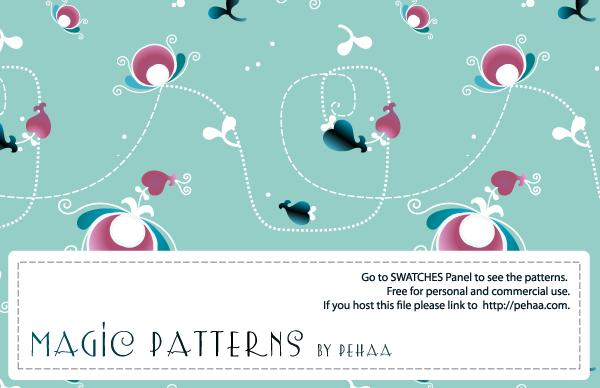 Magic Patterns 1 by PajkaBajka