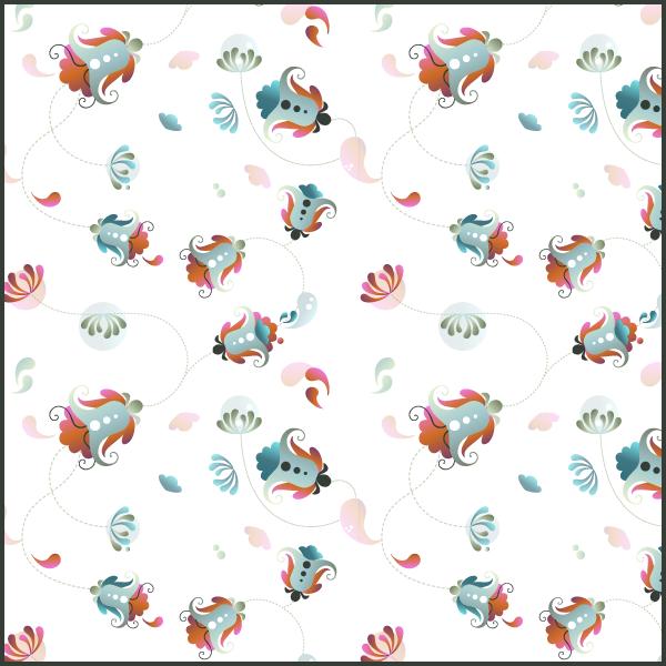 floral pattern 1 by PajkaBajka