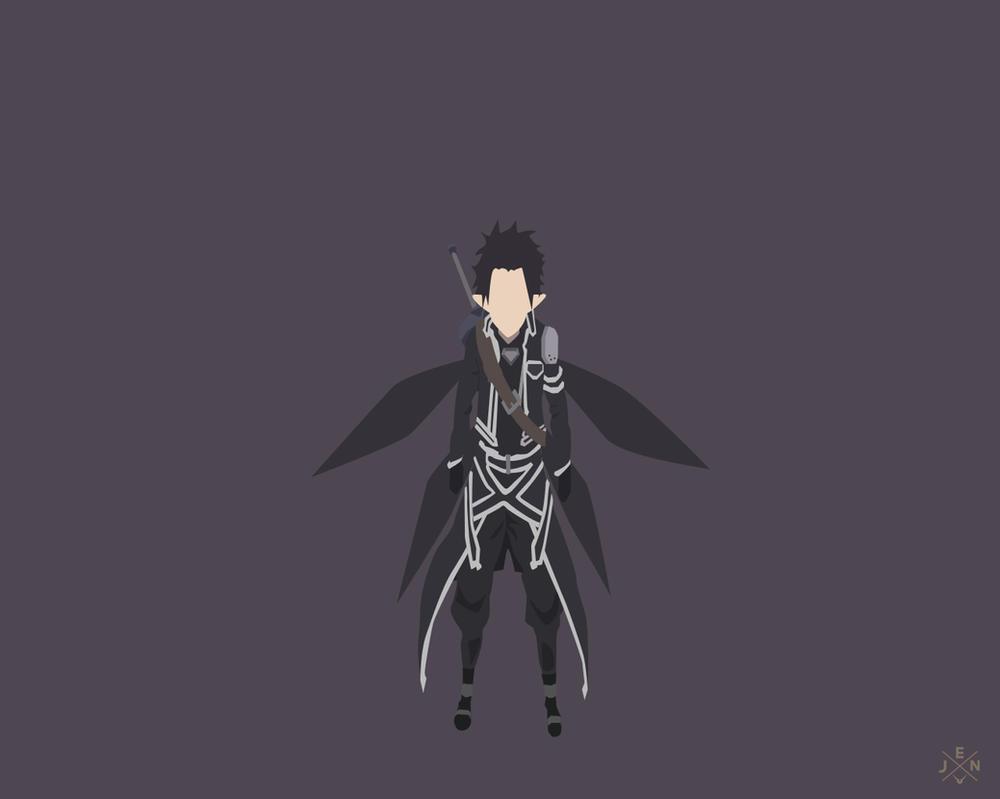 Kirito spriggan sword art online season1 by jmsedwrd on for Minimal art online