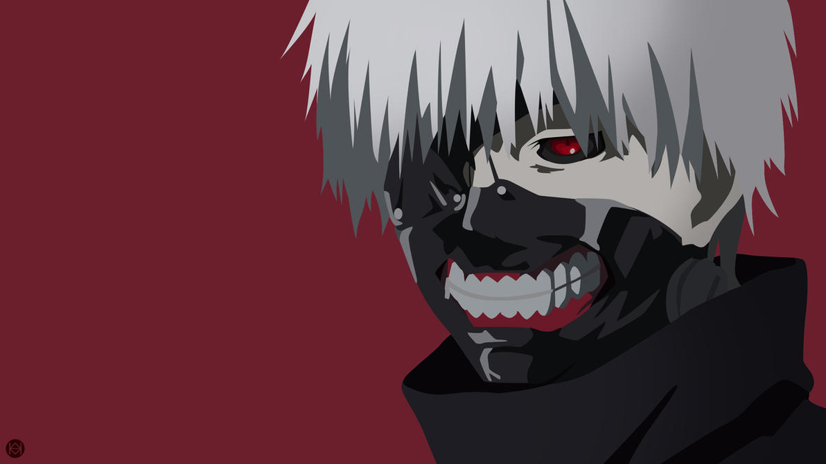 Ken Kaneki Tokyo Ghoul Vector Wallpaper By Jmsedwrd