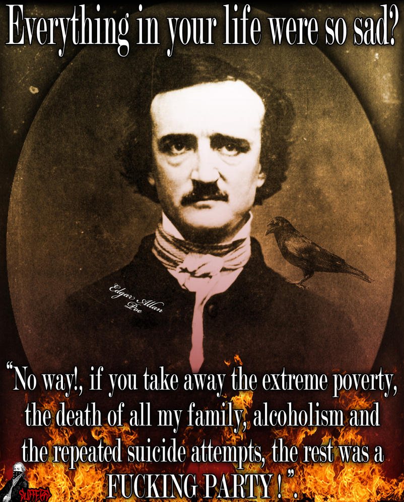 edgar allen poe and humor essay Edgar allan poe is considered one of america's greatest late authors this sample essay explores his life, achievements, and shortcomings.