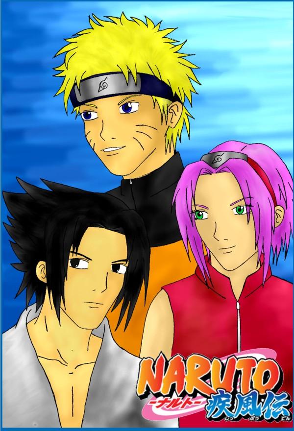 Naruto Sakura Sasuke Shippuden by AviAyuni on DeviantArt