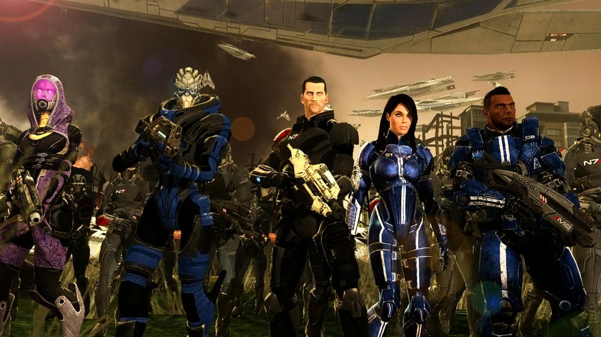 Mass Effect 3 Take Back Earth by LordHayabusa357