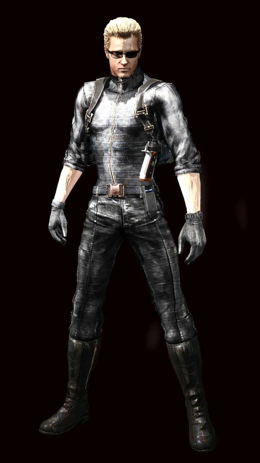 sc 1 st  The Zombie Apocalypse & Resident Evil Albert Wesker Costume-- Buy or DIY!