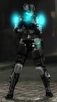 Blacklight Retribution Female Soldier