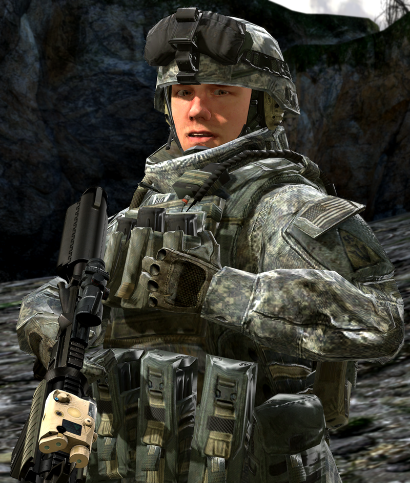 Sgt James Smith US Army Ranger By LordHayabusa357