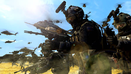 Modern Warfare 1 And 2 On Call Of Duty Army Deviantart