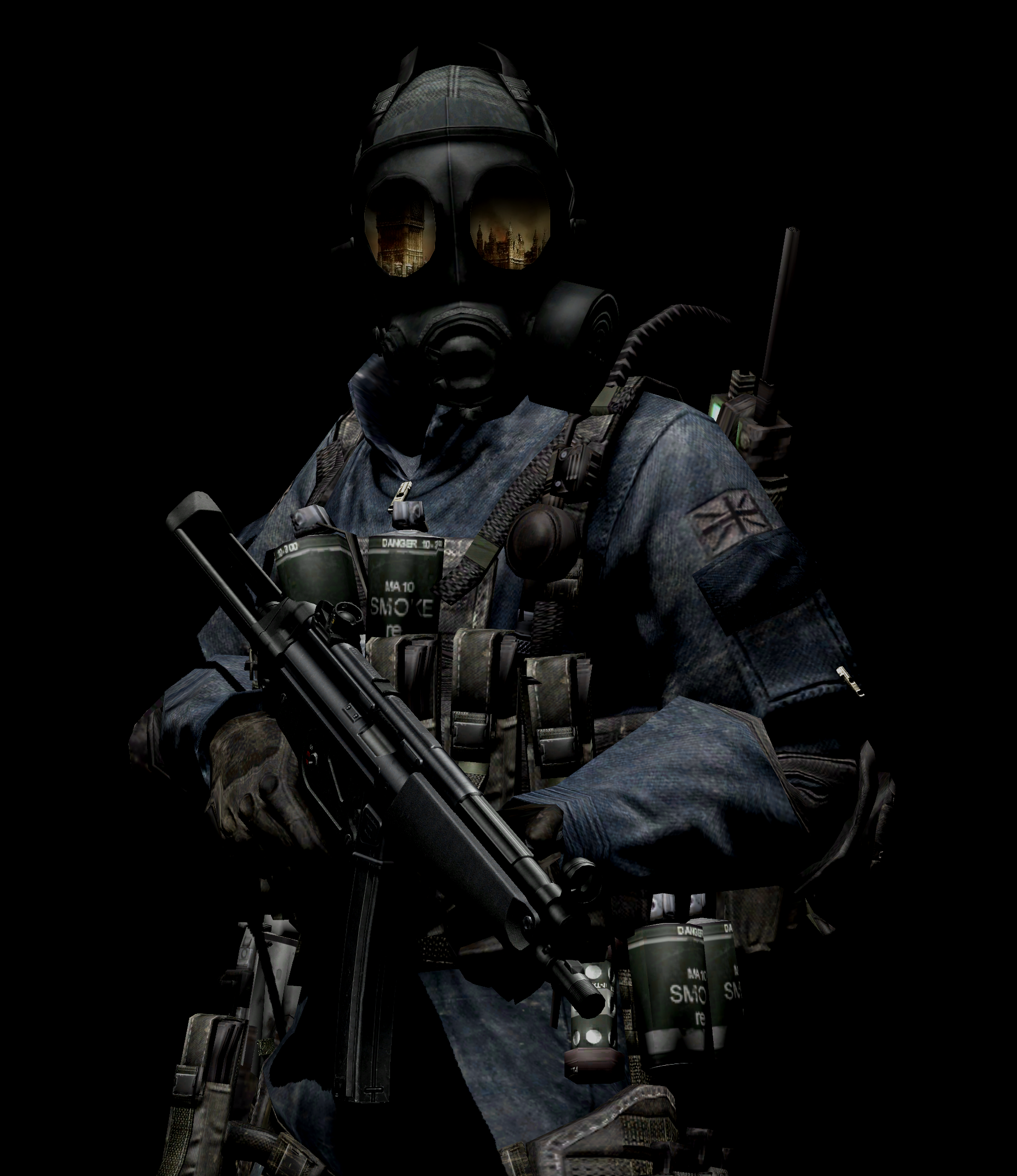 The Biohazard Gas Mask