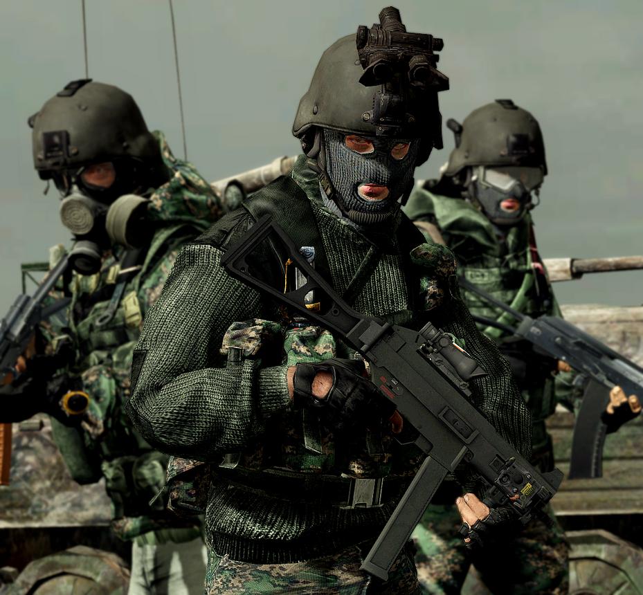Spetsnaz Tiger Battalion by LordHayabusa357