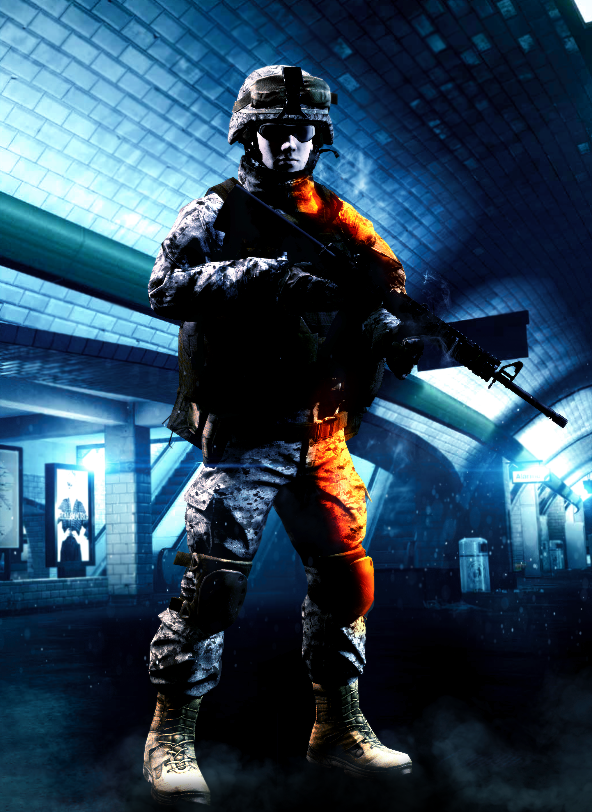 Battlefield 4: Metro by LordHayabusa357