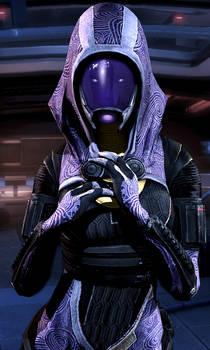 Tali'Zorah wanting Shepard
