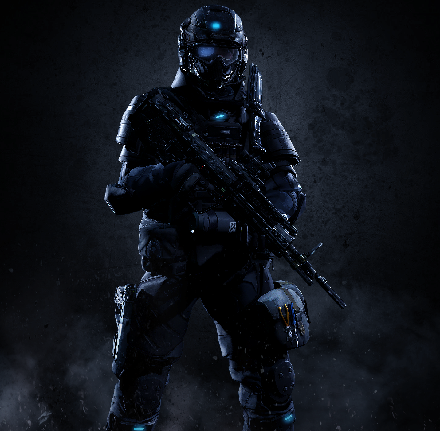 UNSC Army Soldier 5 by LordHayabusa357