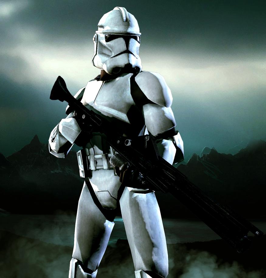 Republic Clone Trooper by LordHayabusa357