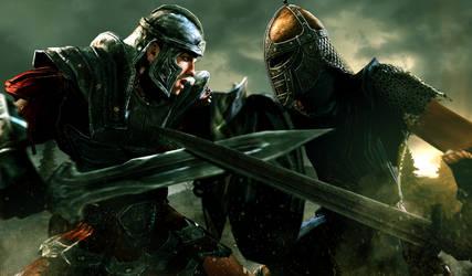 The Bulk of the Empire Vs The Son of Skyrim