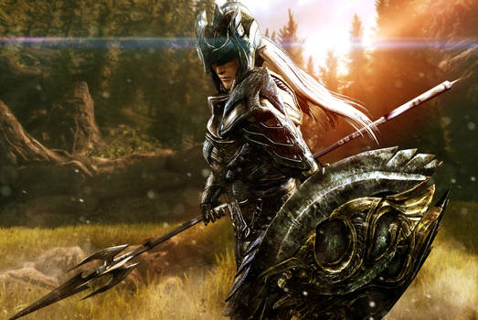 Elven Soldier of Virtue