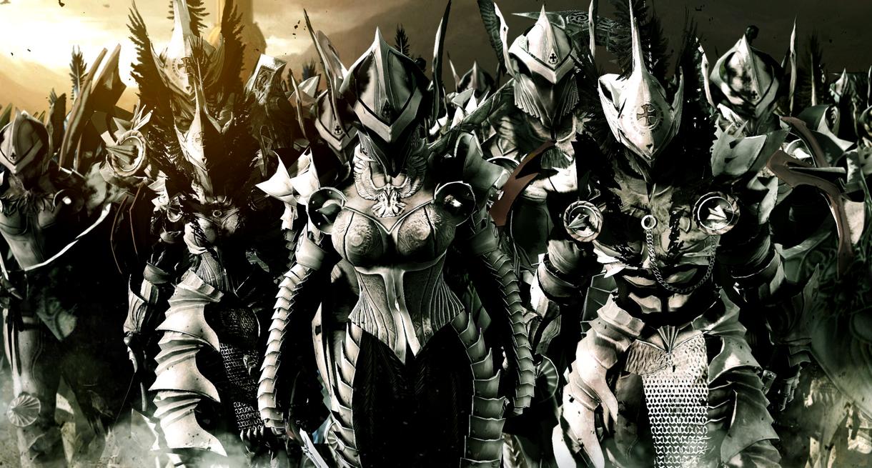 Army of the Paladin Order by LordHayabusa357