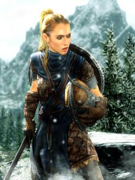 Stormcloak Female Soldier