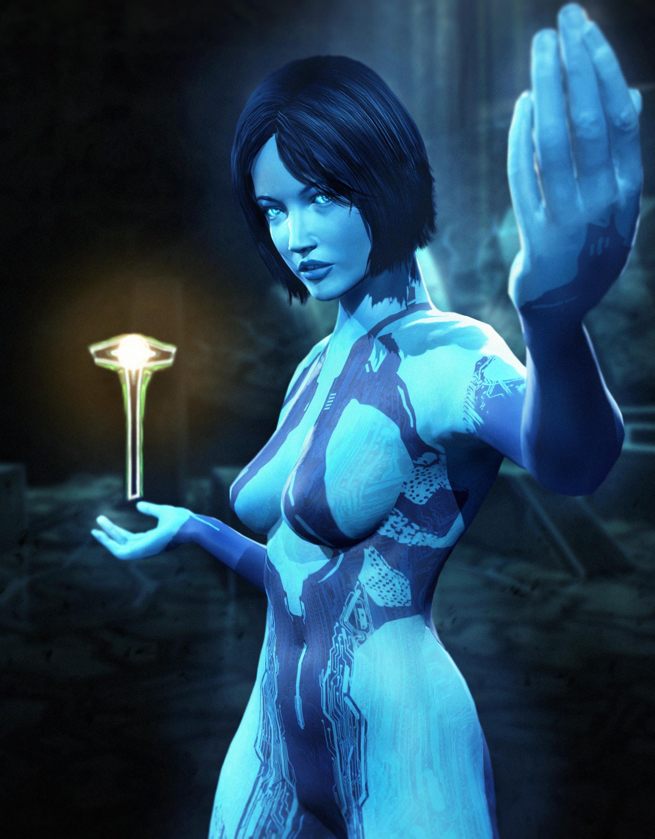 Cortana naked