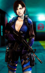Battlesuit Jill Valentine 11 (Enhanced Version) by LordHayabusa357