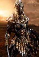 Female Elven Infantry