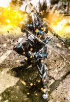 The Ultramodern Samurai by LordHayabusa357