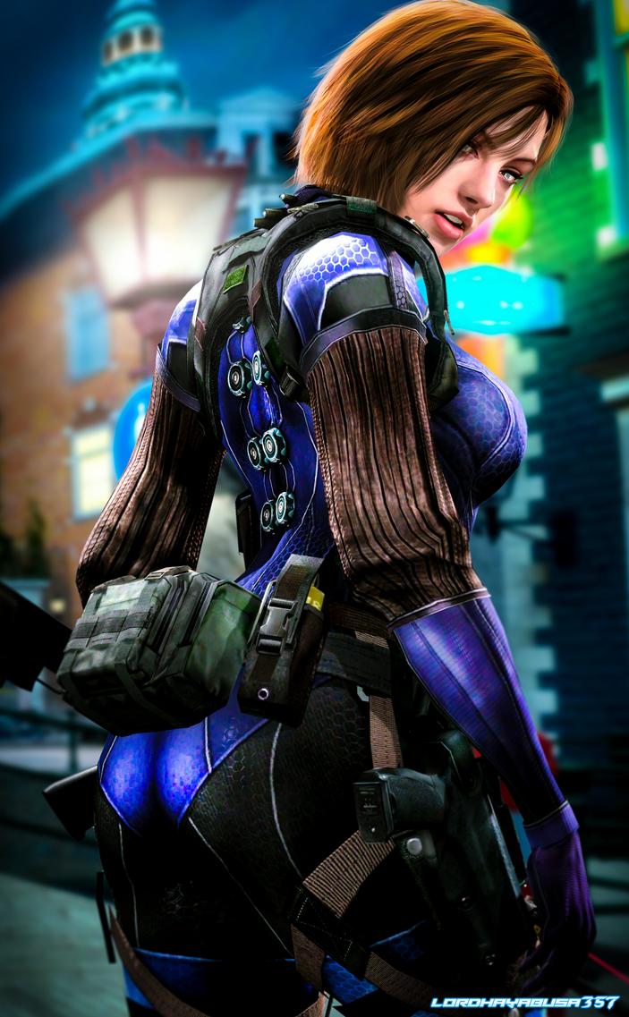 Battlesuit Jill Valentine 12 by LordHayabusa357