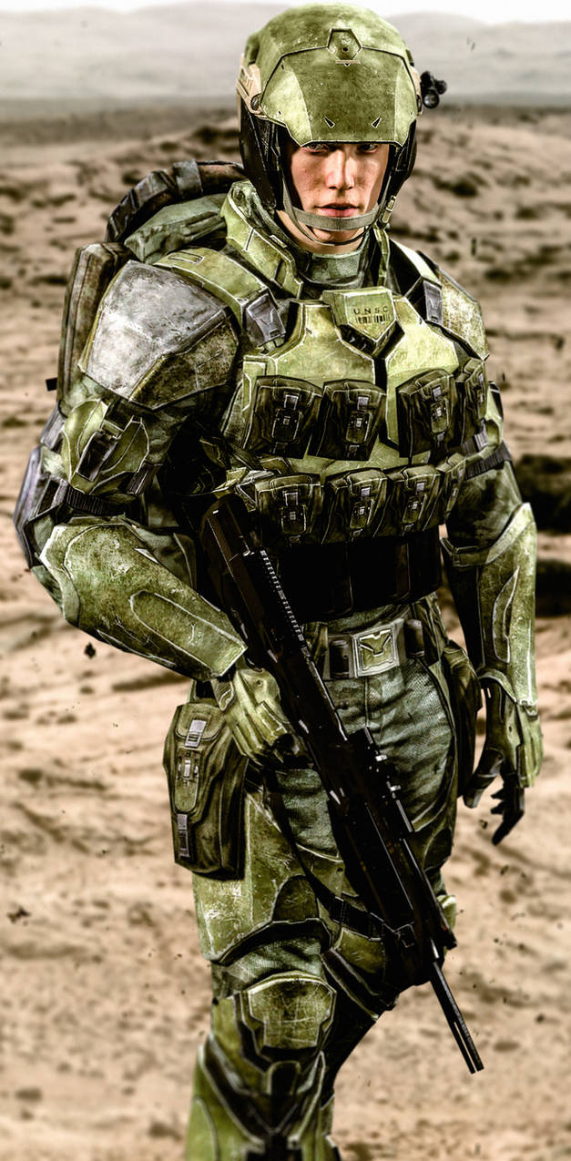 UNSC Marine (H2A) by LordHayabusa357 on DeviantArt