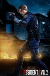 Resident Evil 2 Remake - Leon by LordHayabusa357