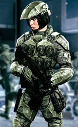 UNSC Female Marine 2 (H2A)