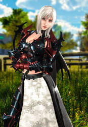 FFXV Aranea Highwind 2 by LordHayabusa357