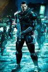 Commander John Shepard (ME3) by LordHayabusa357