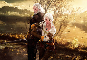 Father and Daughter (The Witcher 3: Wild Hunt)
