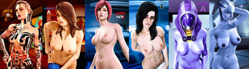 Ladies of Mass Effect by LordHayabusa357