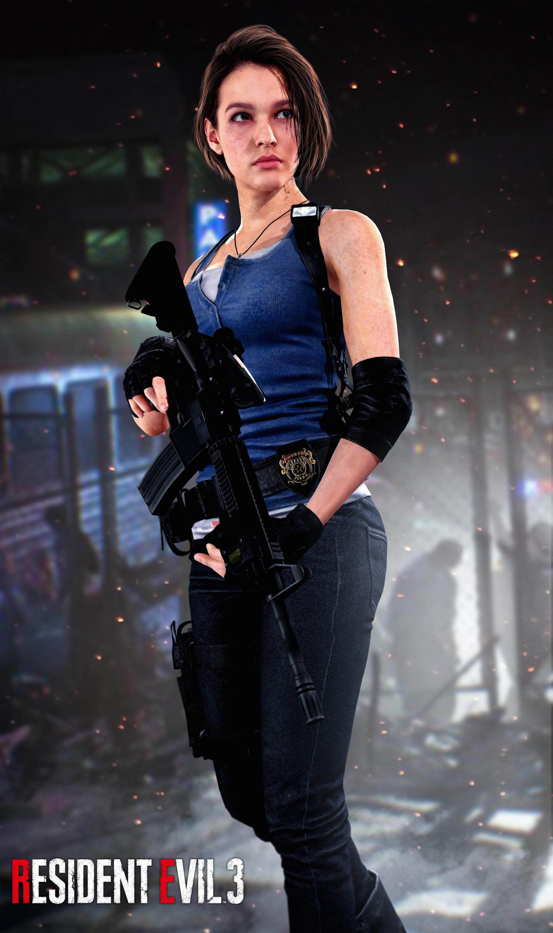 Resident Evil 3 Remake - Jill Valentine Classic - YouTube
