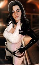 Beautiful Miranda Lawson by LordHayabusa357