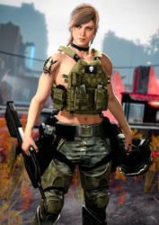 UNSC Female Marine 3 (H2A)