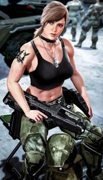 Muscle Toned Marine (Halo)