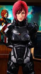 Gorgeous Commander Shepard