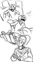 Batch Sketch Commission|Rhett and Percival